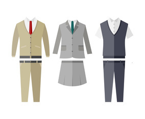 Professional Outfit Vectors