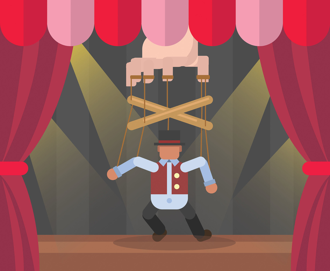 Marionette Puppet Vector