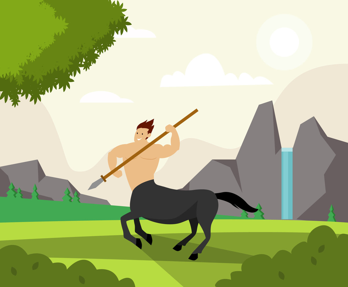 Centaur Illustration Vector