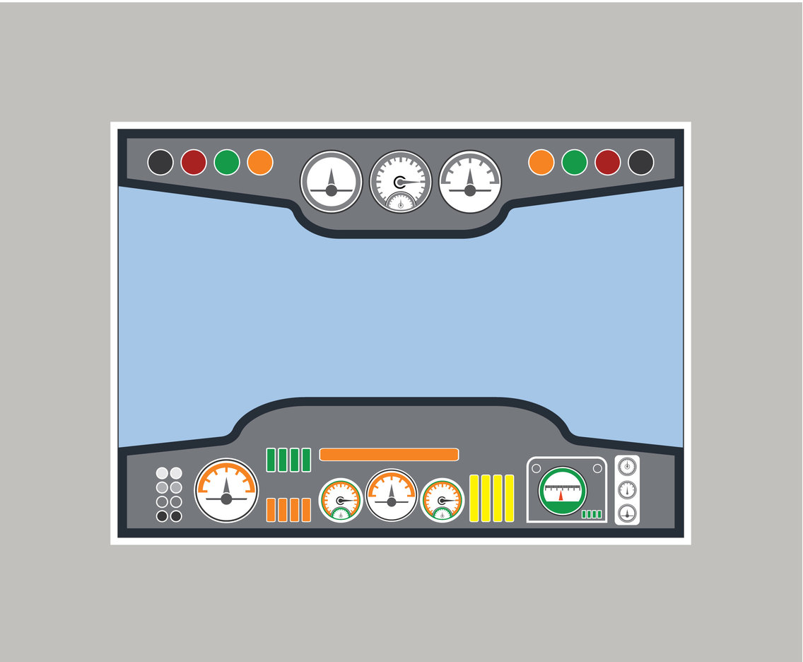 Flight Deck Vector
