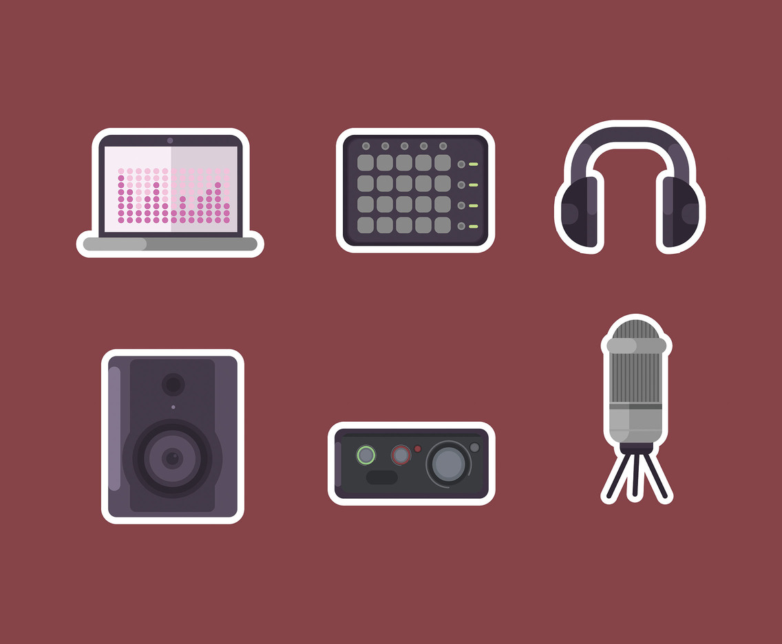 Dubstep Icon Vector