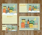 Colorful Bethlehem City Card