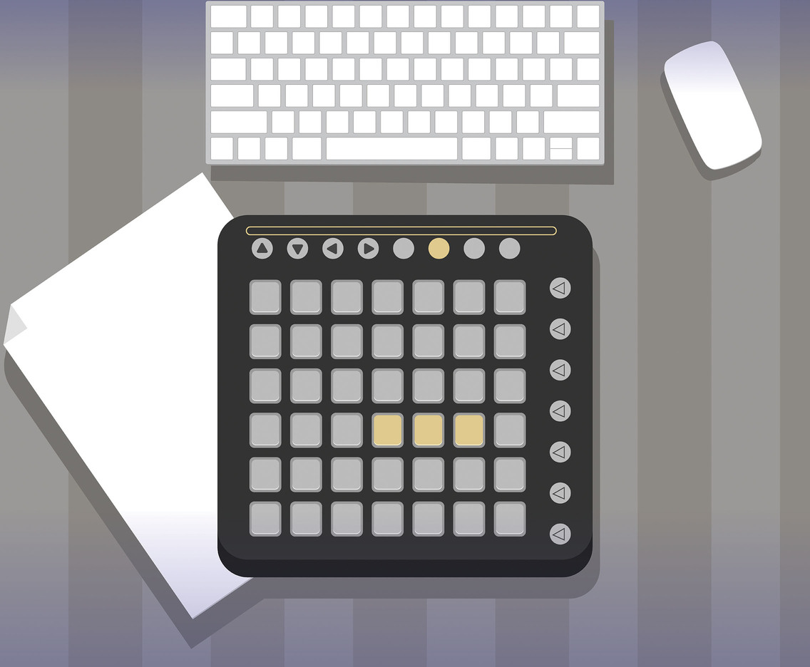 Electronic Dubstep Vector