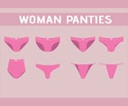 Eight Woman Panties