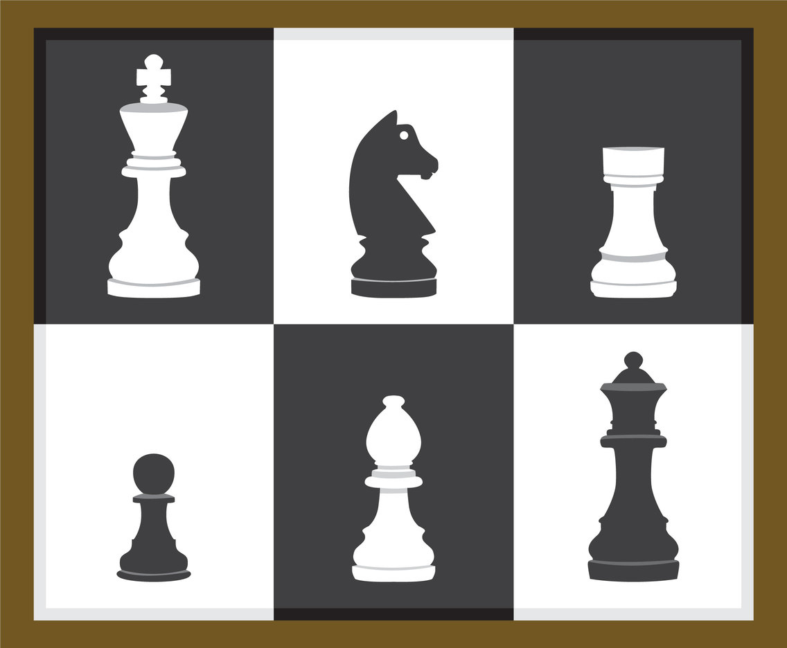 Play Chess Vector