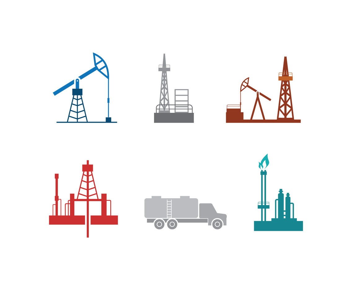Petrochemical Industry Vector
