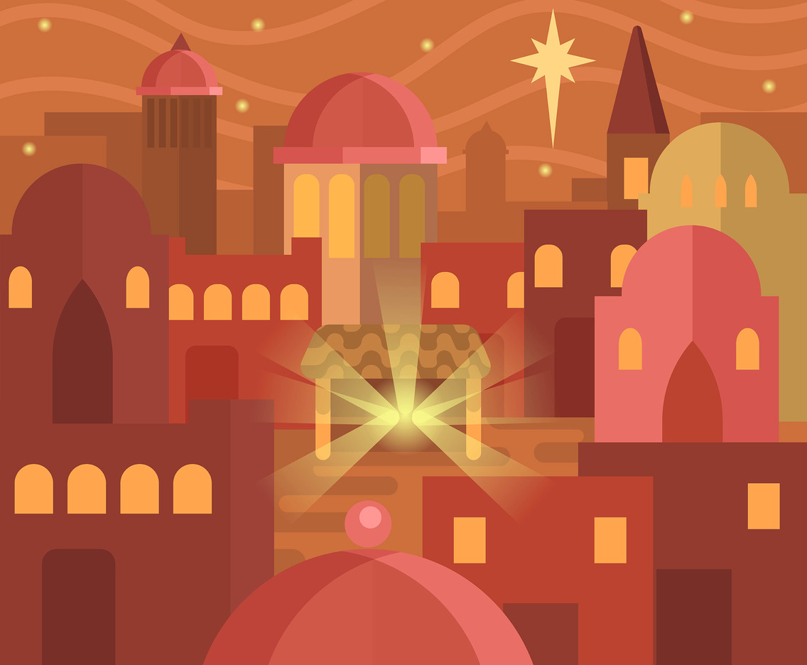 City of Bethlehem Vector