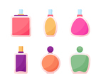 Free Unique Perfume Bottles Vectors