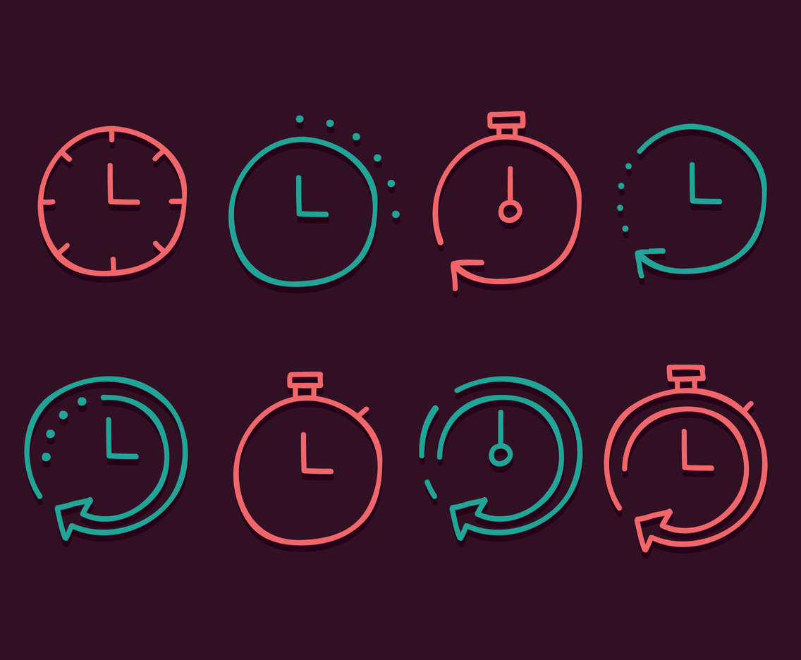 Sketch Quick Time Icons Vector