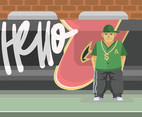 Hiphop Culture Vector