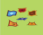 Flying Carpet Vector