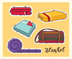 Blanket Vector Pack