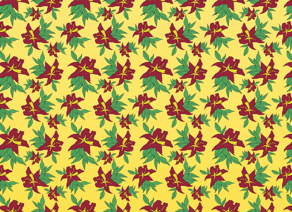 Classic Flowers Pattern