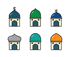 Islamic Building With Dome