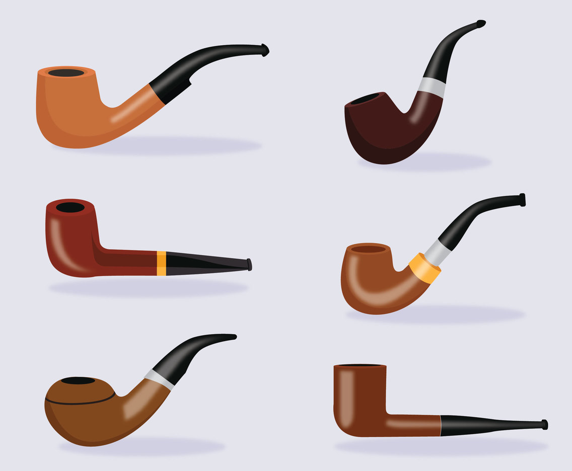 Tobacco Pipe Vector Pipe