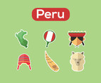 Peru Vector Green Background
