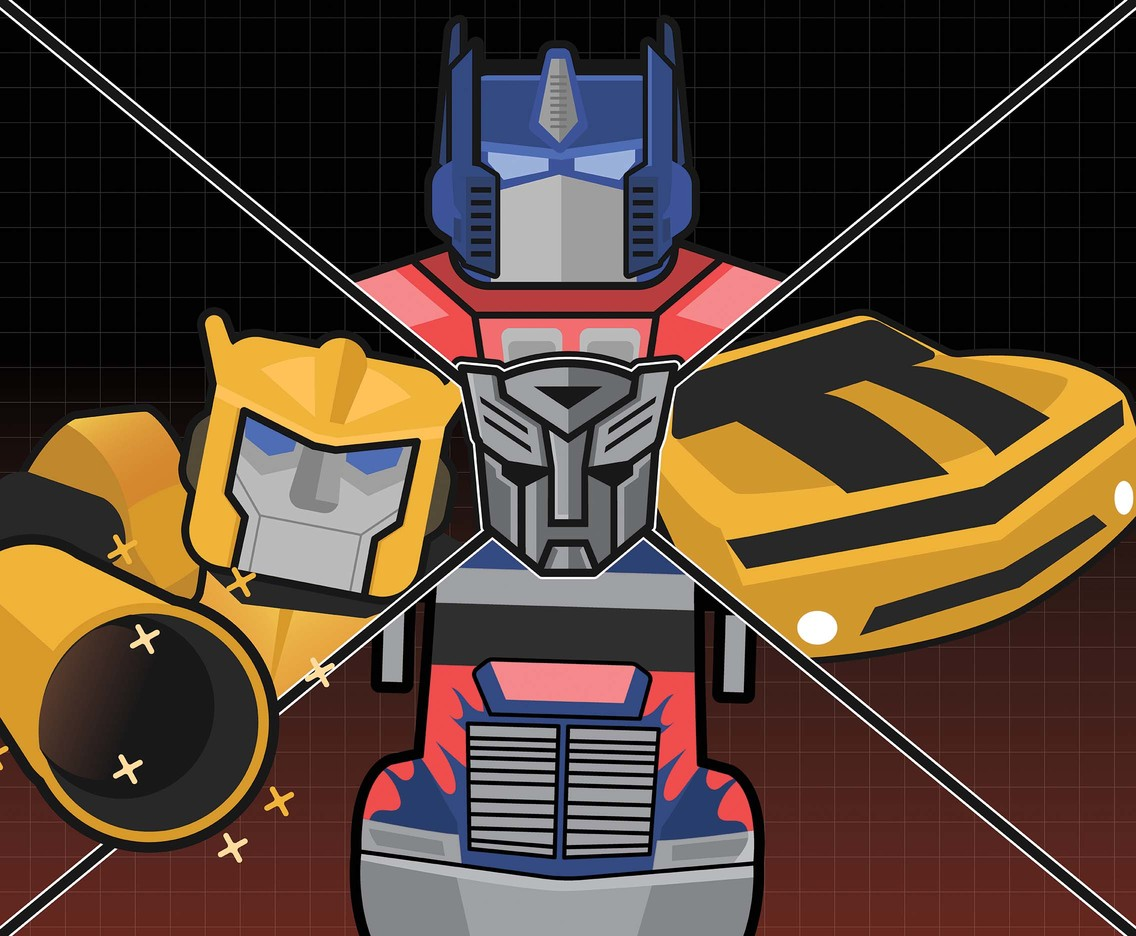 Autobot Illustration Vector