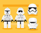 Star Wars Trooper Vector Pack