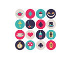 Alice In Wonderland Little Icons