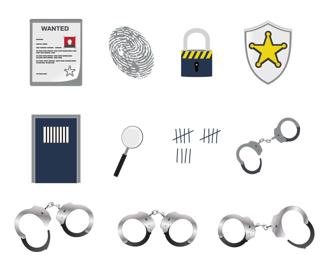 Vector Police Elements