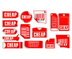 Cheap Label Tag Vectors