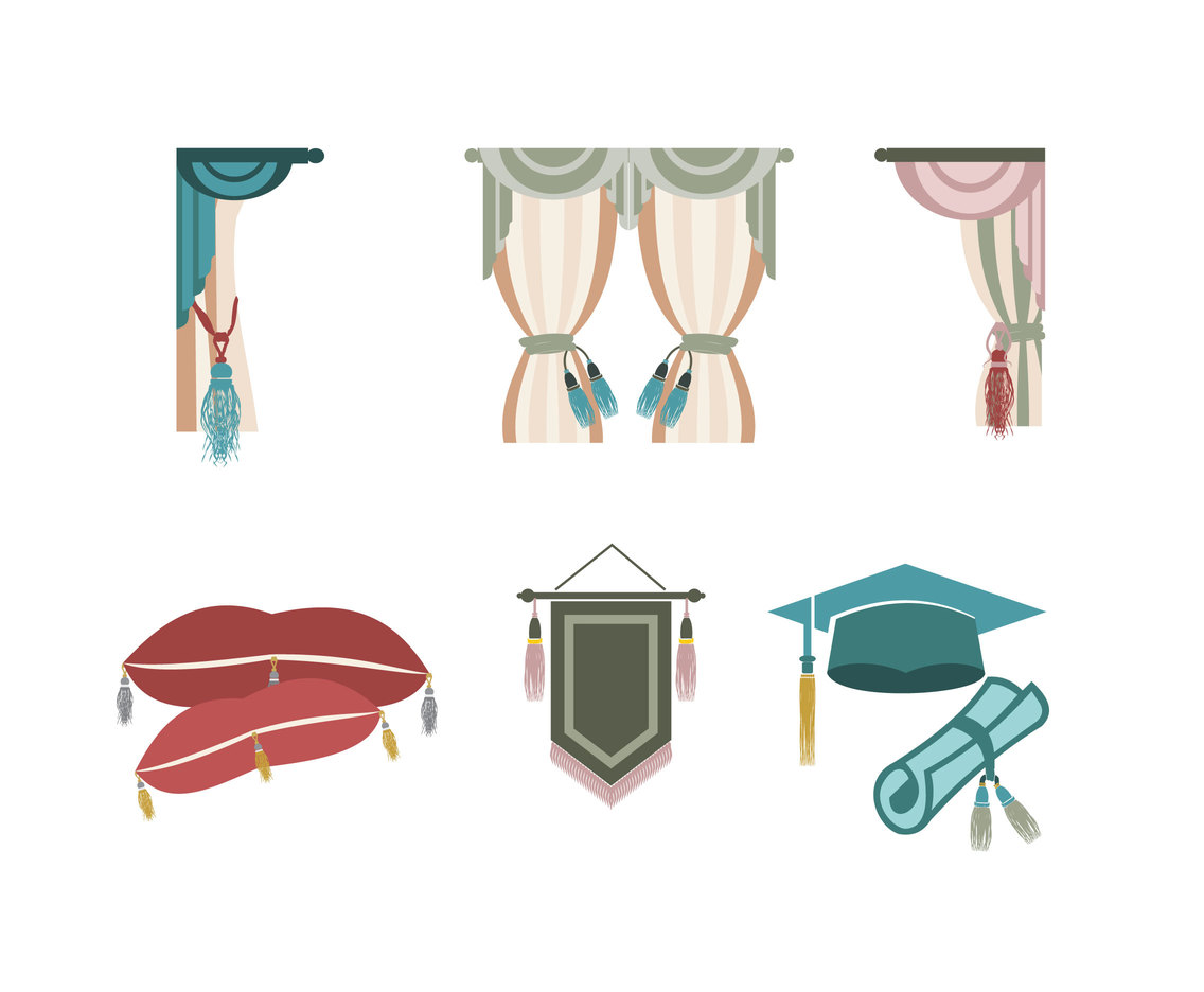 Various Tassel Vector