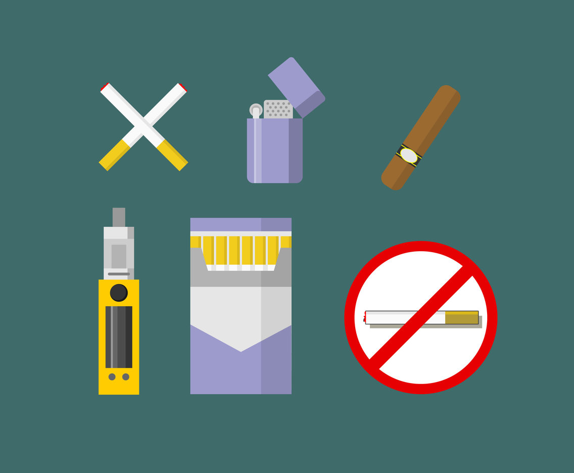 Smoking Illustration Vector