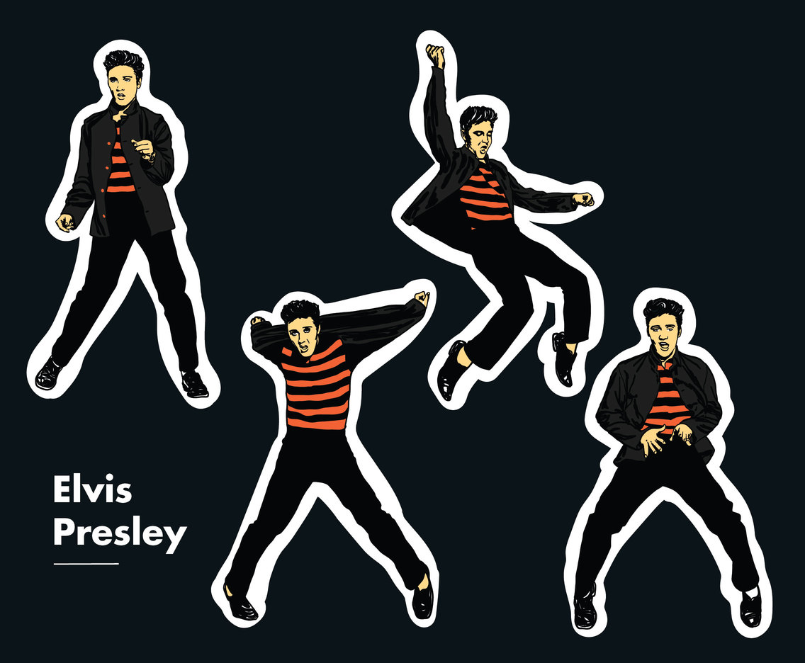 Elvis Presley Vector Pack