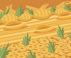 Dried Short Pasta Vector