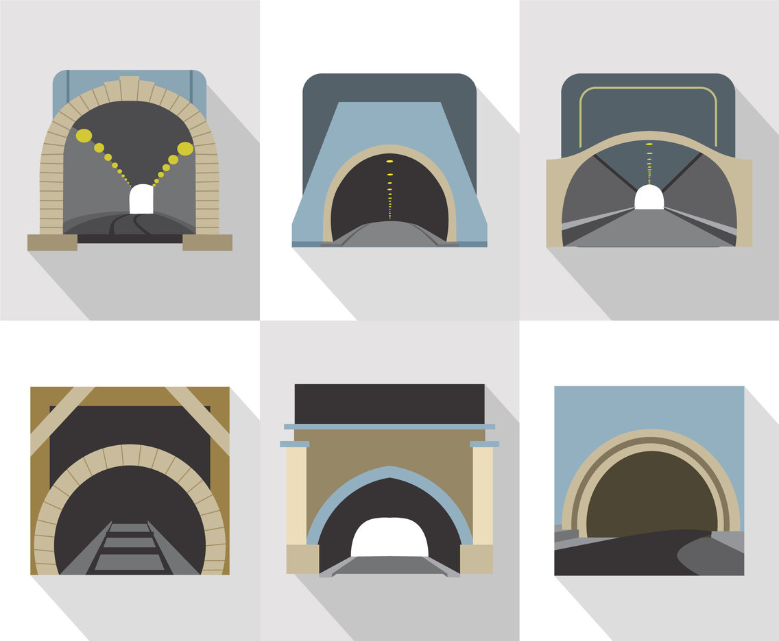 Tunnel Entrance Vector