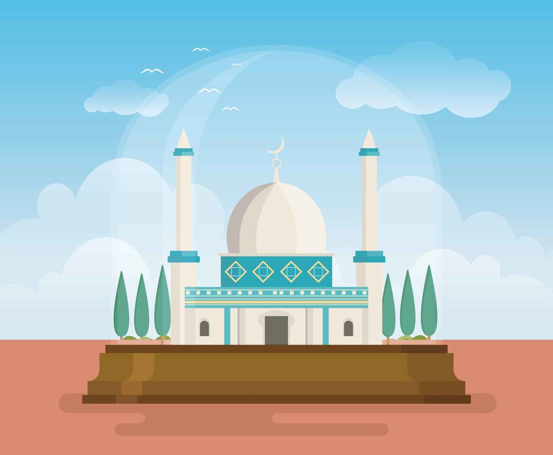 Free Mosque Dome Of The Rock Illustration