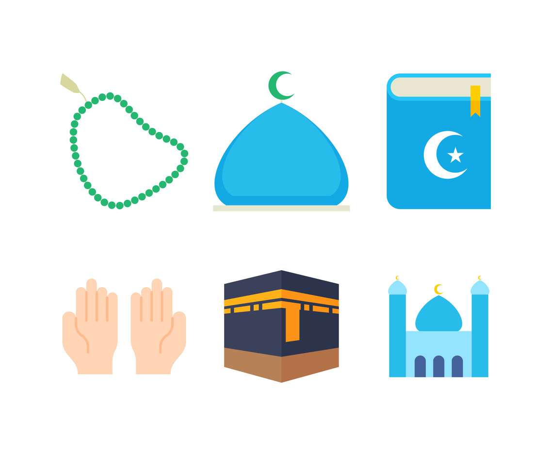 Free Iconic Islamic Vectors