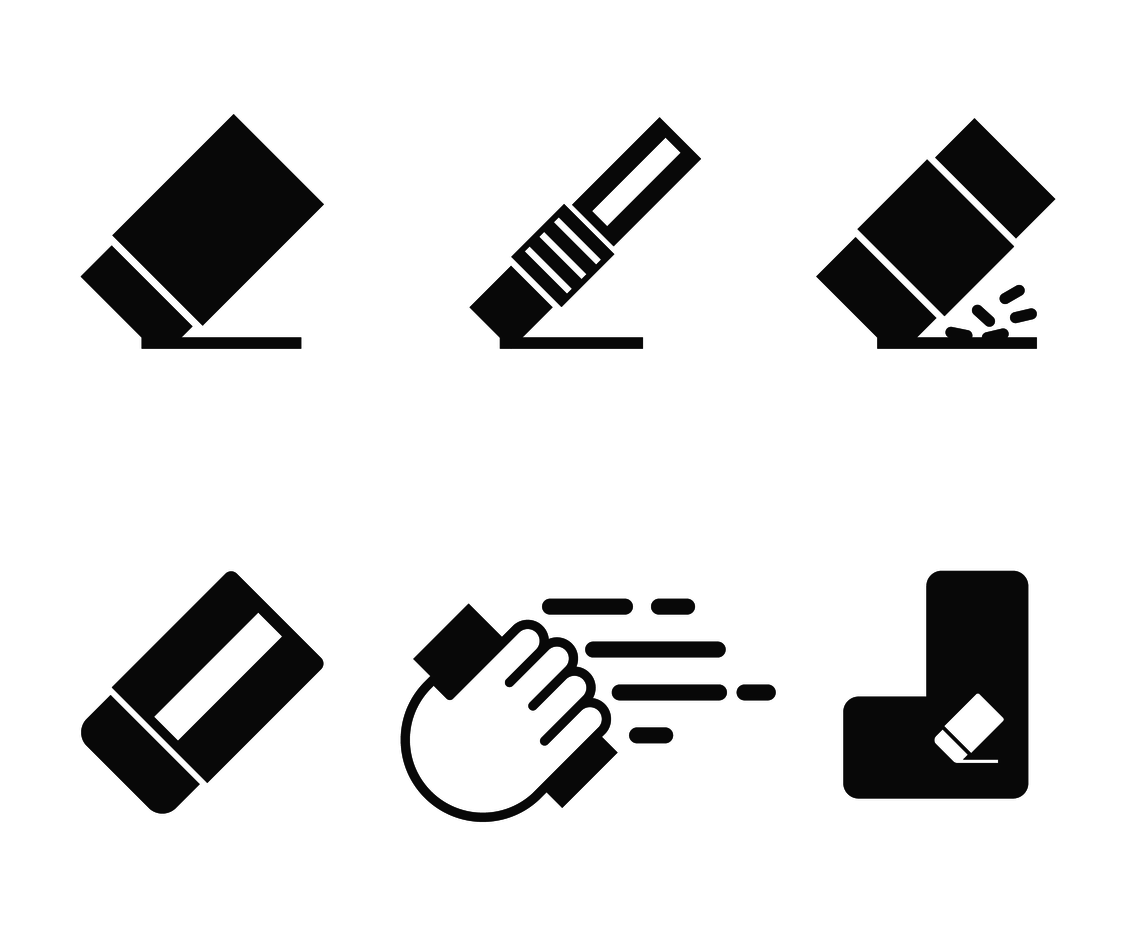 Eraser Icon Vector