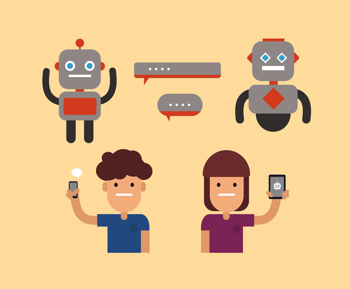 Smart Chatbot Vector