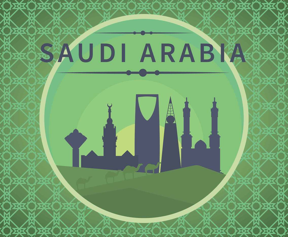 Saudi Arabia Illustration