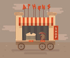 Athens Shop Vector