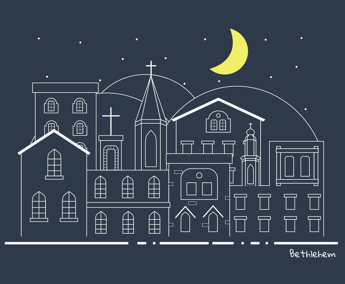 Bethlehem Vector Design