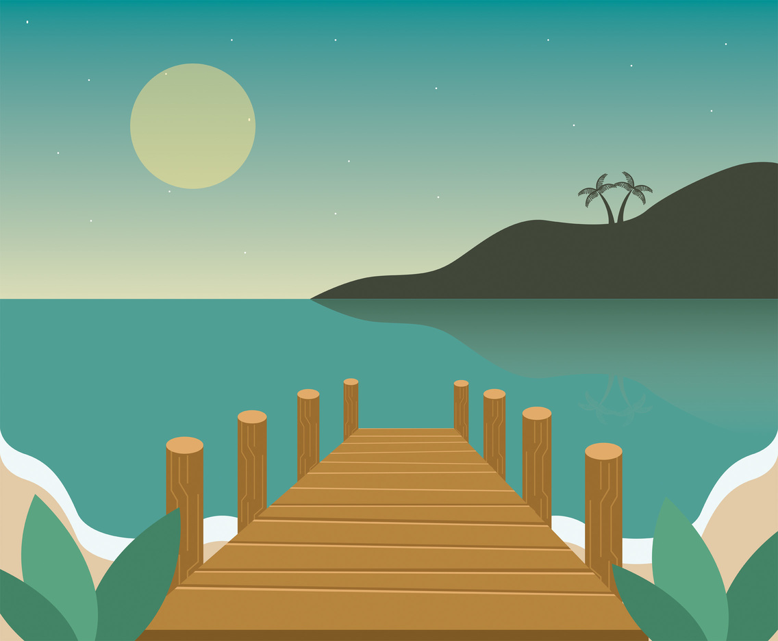 Dock Vector Design