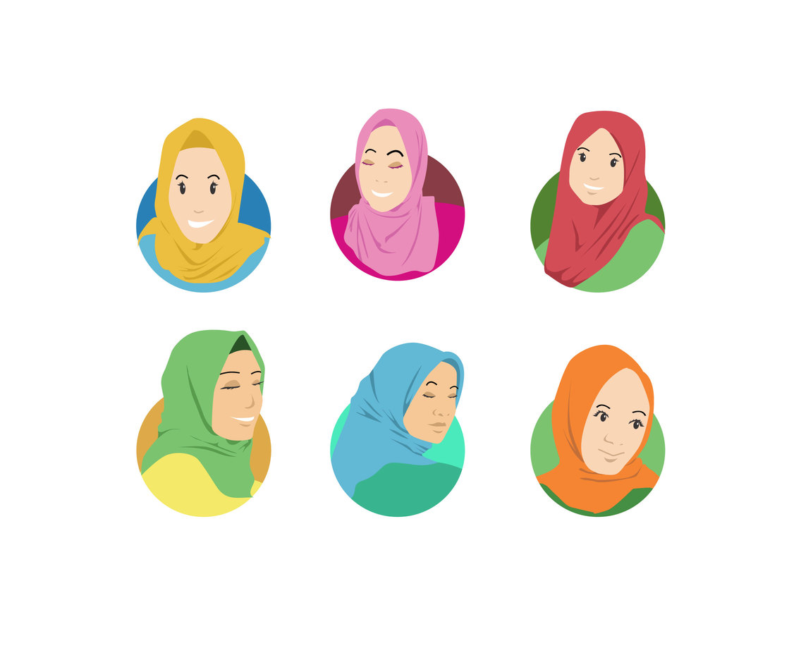 The Hijabers Vector