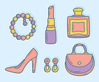 Feminine Element Collection Vector