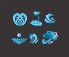 Curvy Shapes Vector
