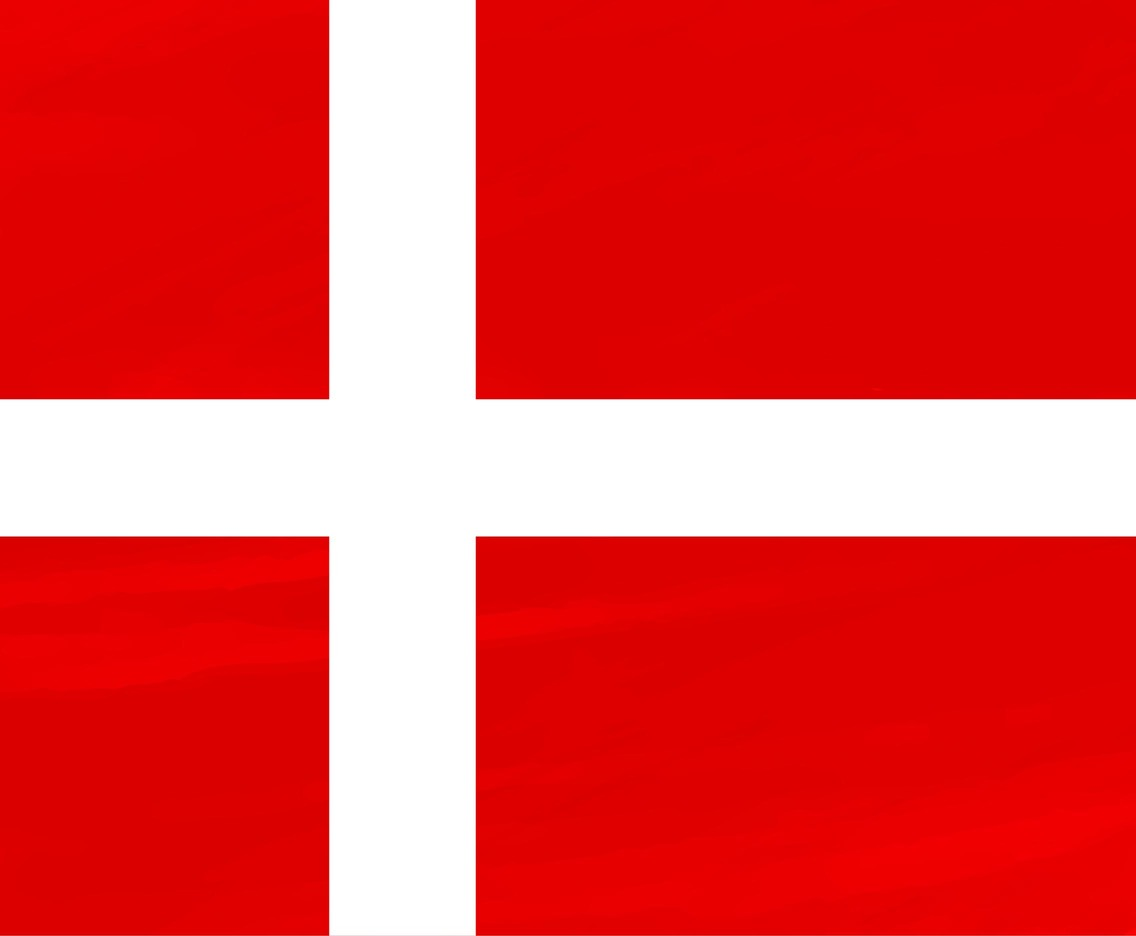 Free Vector Denmark Flag Background