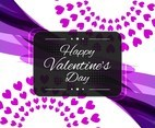 Free Vector Happy Valentine's Day Modern Background