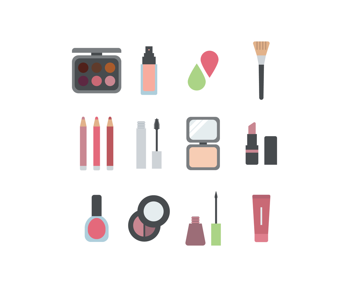Colorful Set Of Make-Up