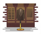 Brown Blazer Vector