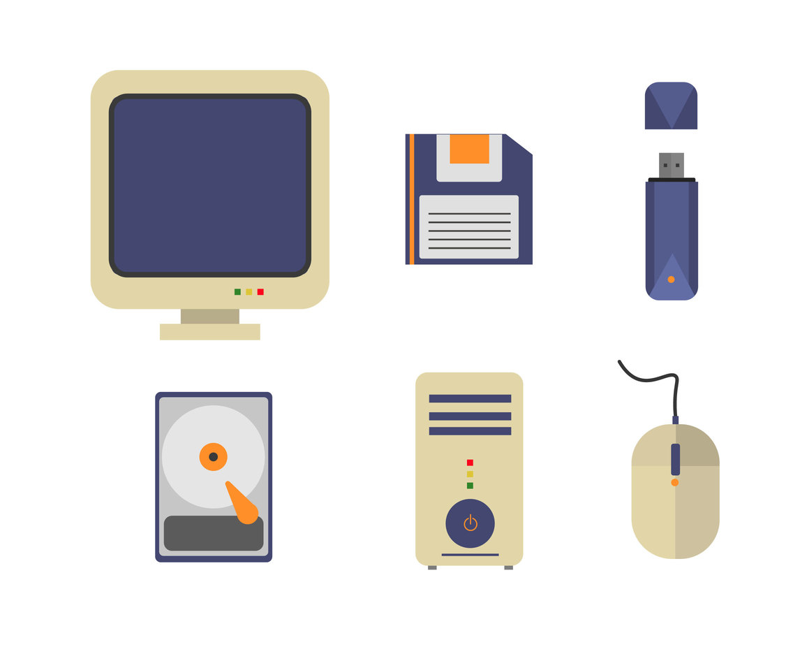 PC and Data Storage Vector