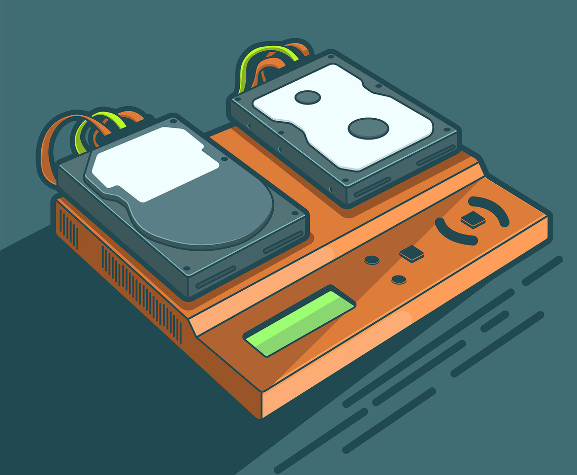 Hard Disk and Console Vector