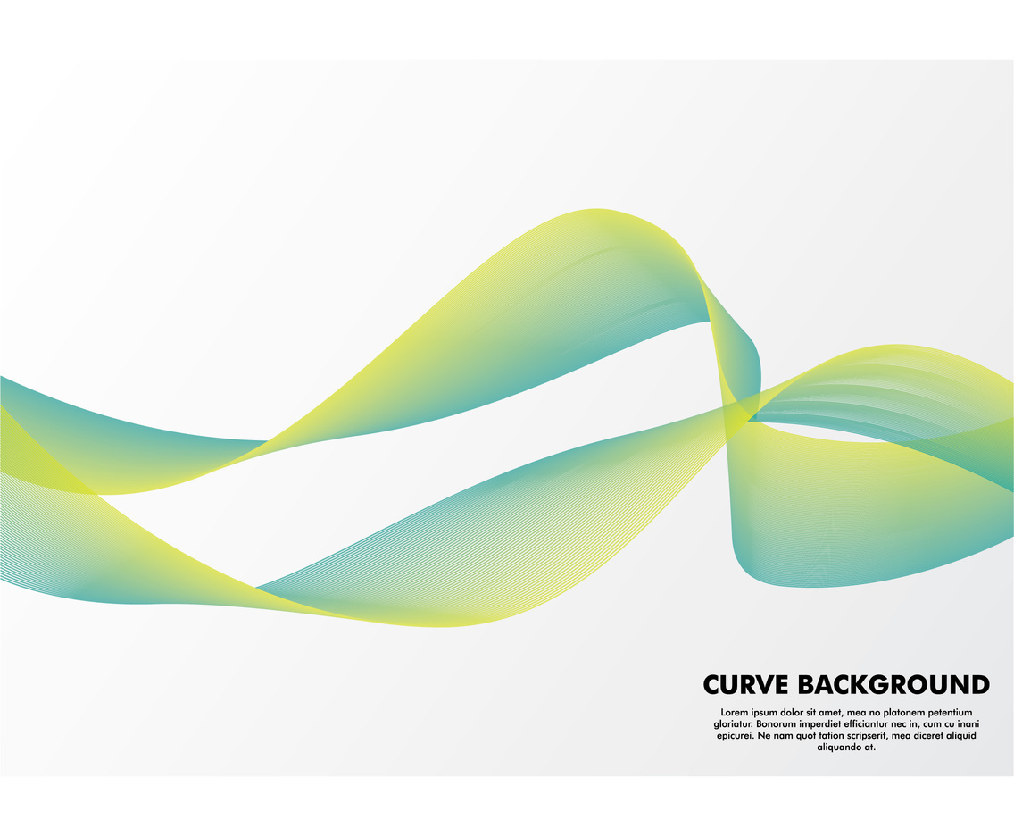 Curvey Line Background