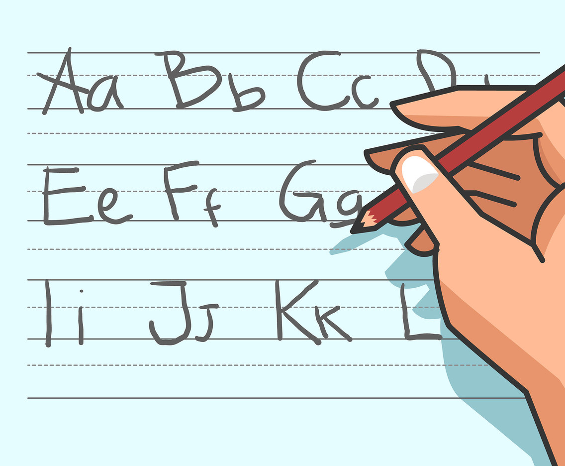 Alphabet Handwriting Vector
