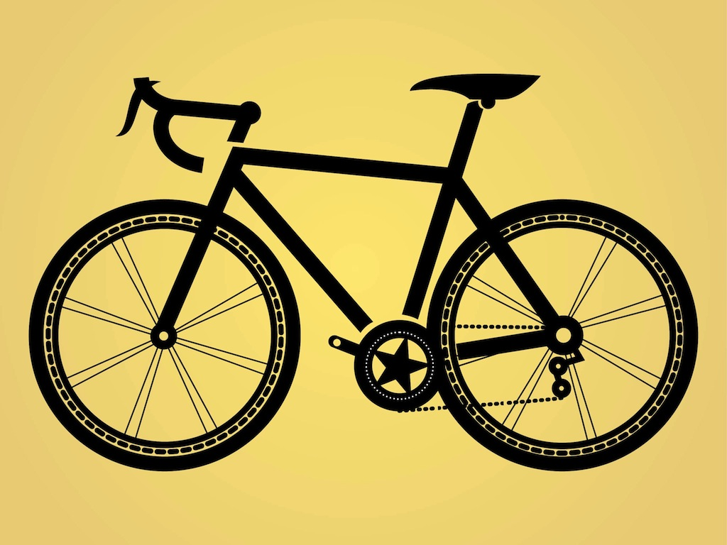 Bicycle Illustration Vector Art & Graphics